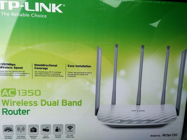 Hands on wifi router TP-Link Archer C60 – VR Digital world