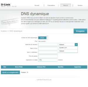 DNS dynamique