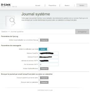 Journal système